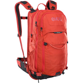 EVOC Stage Sac à dos Technical Performance 18l, chili red
